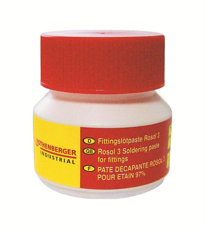 Rothenberger Fittingsoldeerpasta, Rosol 3, 100 gram