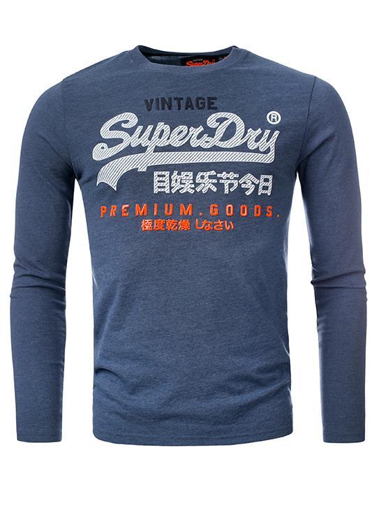 Superdy T-Shirt LS Infill