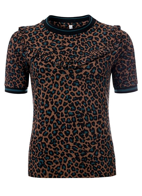 Summum T-shirt SS Leopard