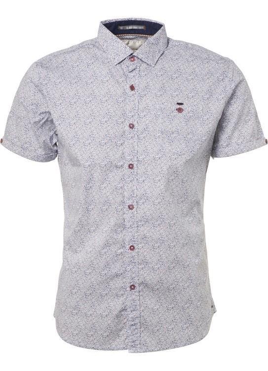 No Excess Overhemd KM Printed Stretch