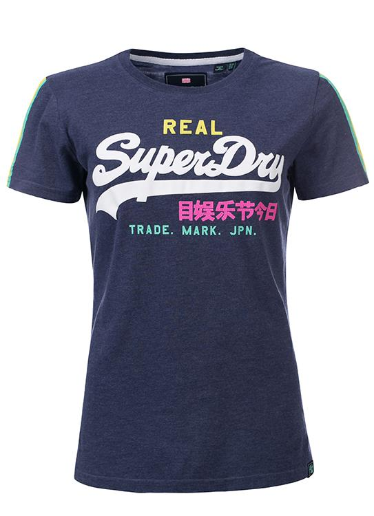 Superdry T-Shirt Stripe Entry
