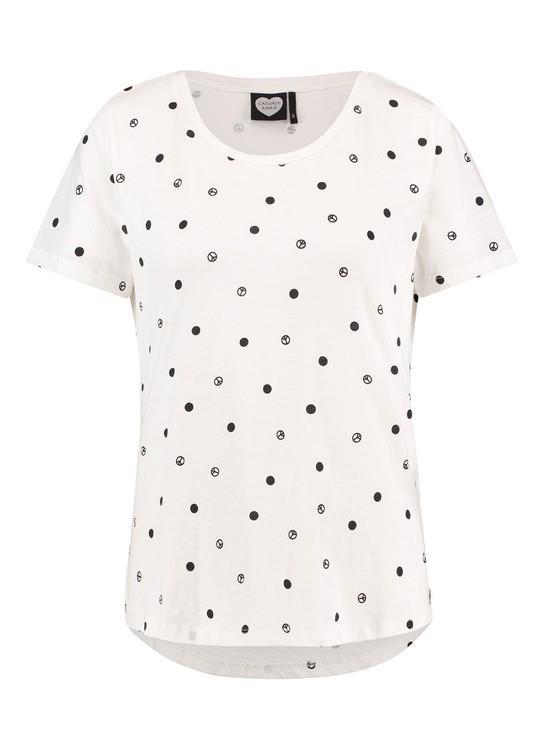 Catwalk Junkie T-Shirt Peace Spots