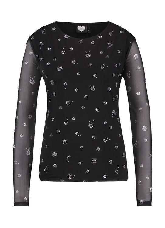 Catwalk Junkie T-Shirt LS Daisy Mesh