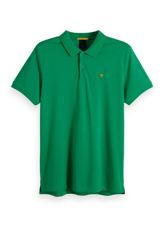 Scotch & Soda Polo Groen 149073