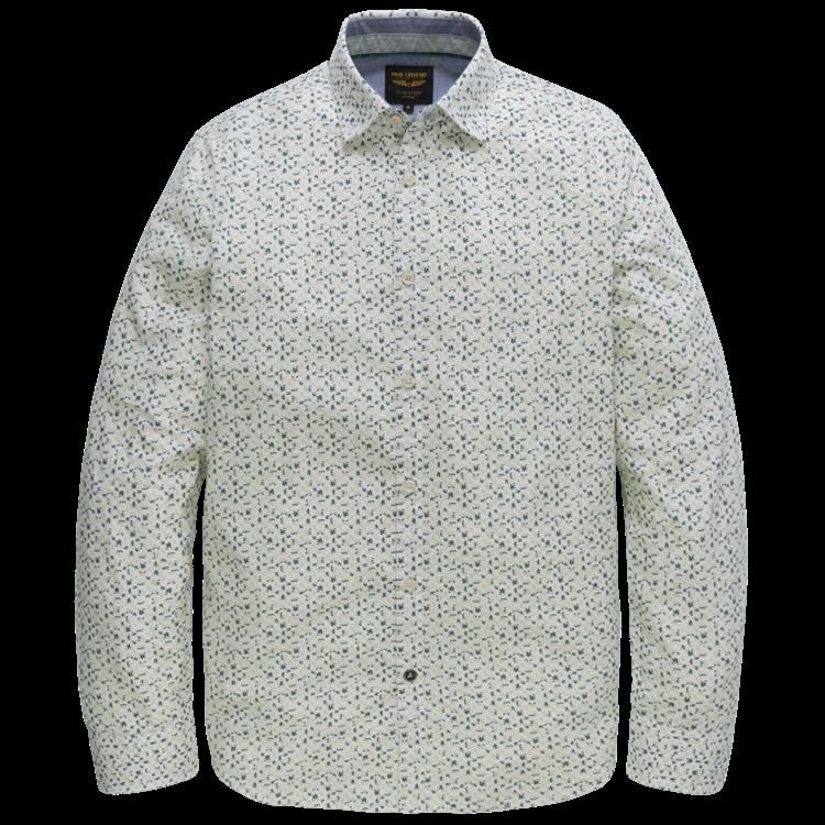 PME Legend Overhemd LM Poplin Print