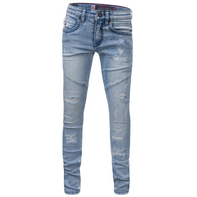 Blue Rebel TILE - super skinny fit jeans - Clear wash - dudes
