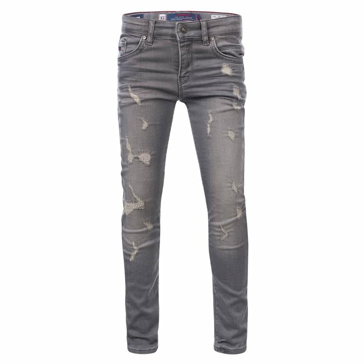 Blue Rebel MINOR - comfy skinny fit jeans - Grey wash - dudes