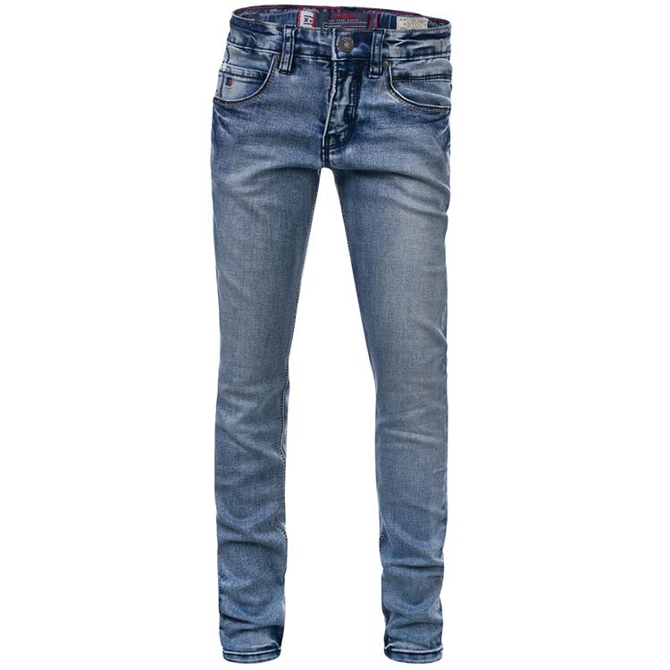 Blue Rebel SOLDER - skinny fit jeans - Stone wash - dudes