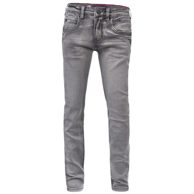 Blue Rebel SOLDER - skinny fit jeans - Grey wash - dudes
