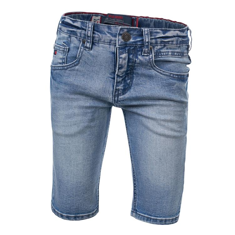 Blue Rebel CAVE - skinny fit shorts - Clear wash - dudes