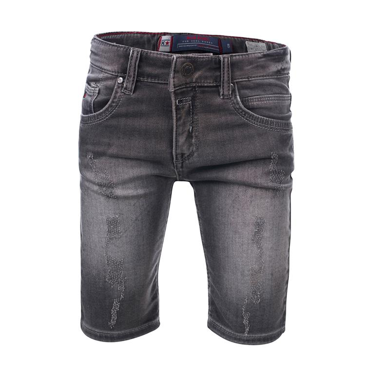 Blue Rebel CAVE - skinny fit shorts - Antra wash - dudes