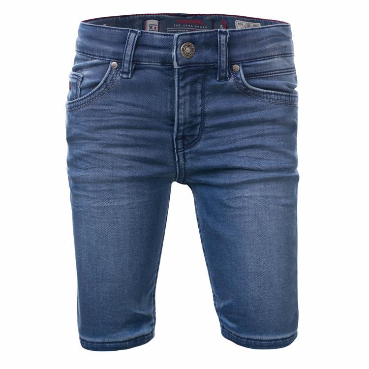 Blue Rebel CAVE - skinny fit shorts - Tahoe wash - dudes