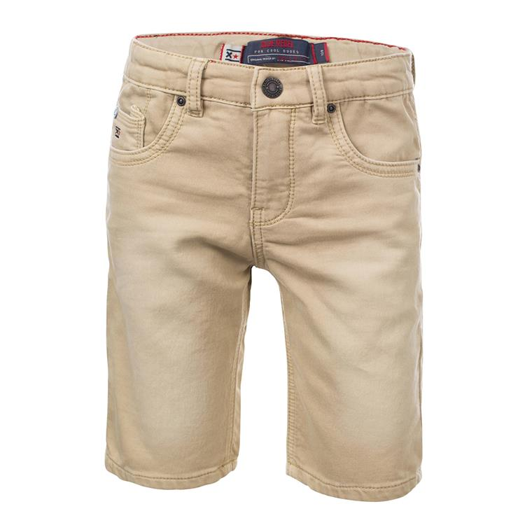 Blue Rebel CARPENTER - slim fit shorts - Sand - dudes