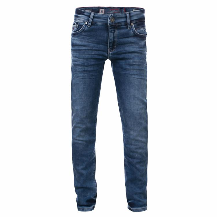 Blue Rebel GROOVE - comfy slim fit jeans - Tahoe wash - dudes