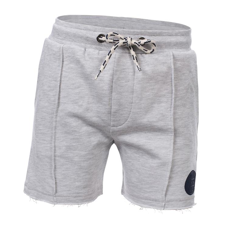 Blue Rebel  -  sweat shorts - Off white melange - dudes