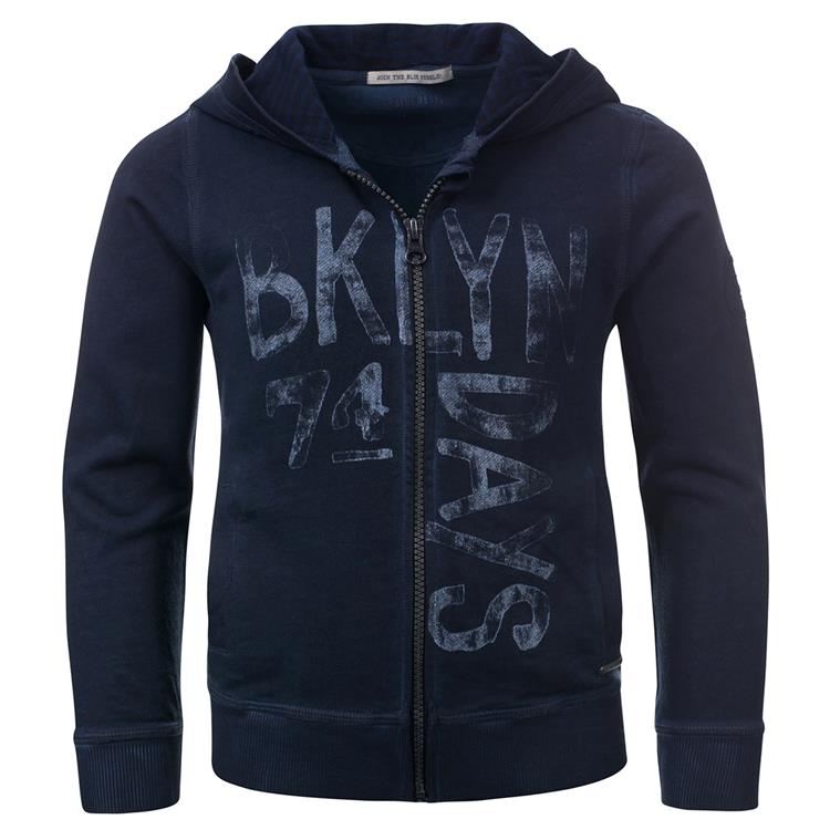 Blue Rebel  -  hooded cardigan - Ocean - dudes