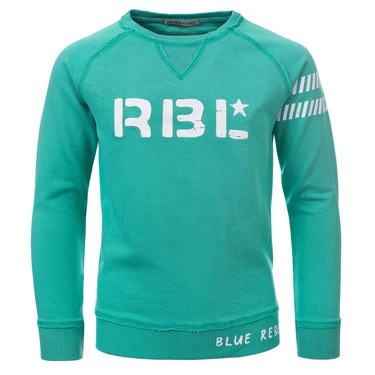 Blue Rebel  -  sweater - Seafoam - dudes