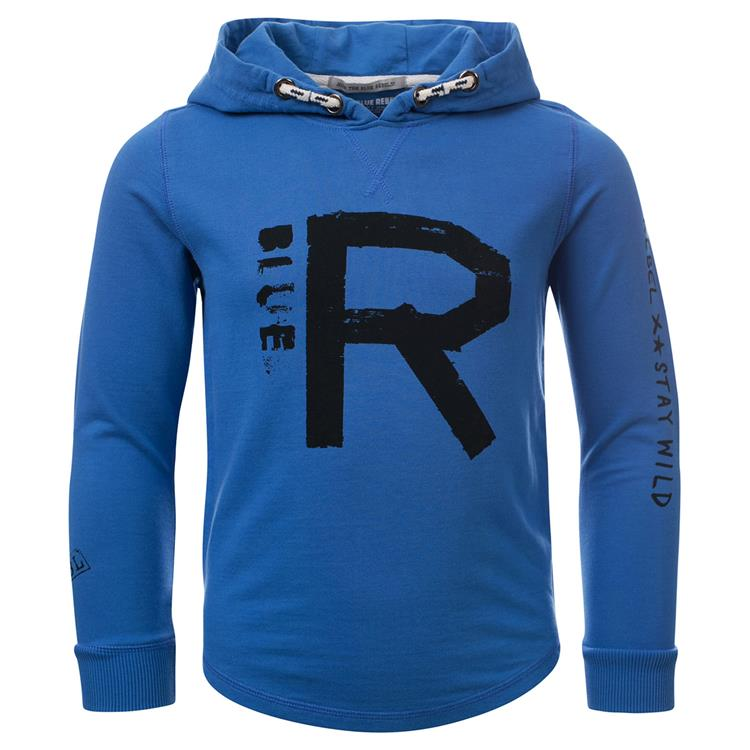 Blue Rebel  -  hooded sweater - Breeze - dudes