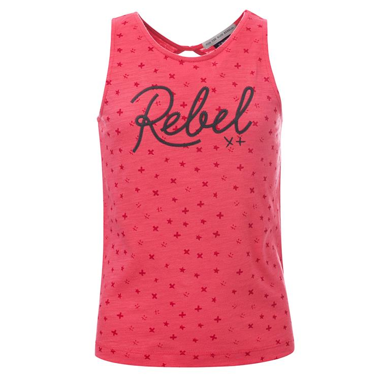 Blue Rebel  -  singlet - Hibiscus - betties