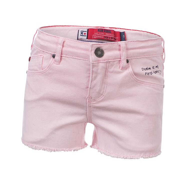 Blue Rebel  - relaxed fit shorts - Flamingo - betties