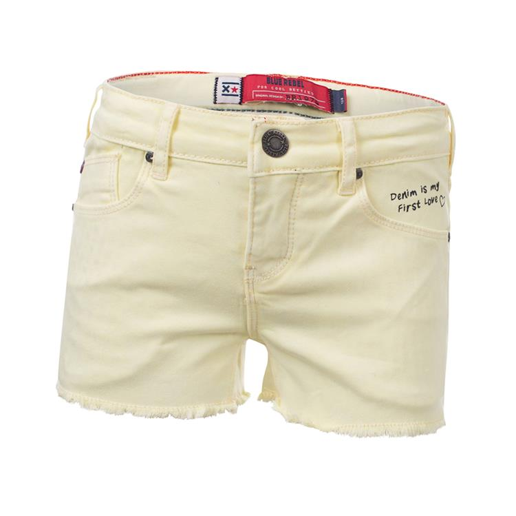 Blue Rebel  - relaxed fit shorts - Honey - betties