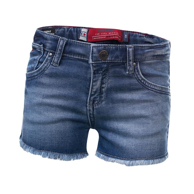 Blue Rebel TOPAZ - high rise shorts - Tahoe wash - betties