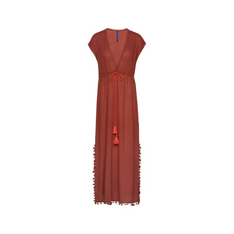 Cyell jurk Sunset Terracotta