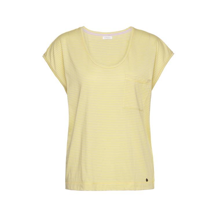 Cyell shirt short sleeve Pinstripe Yel