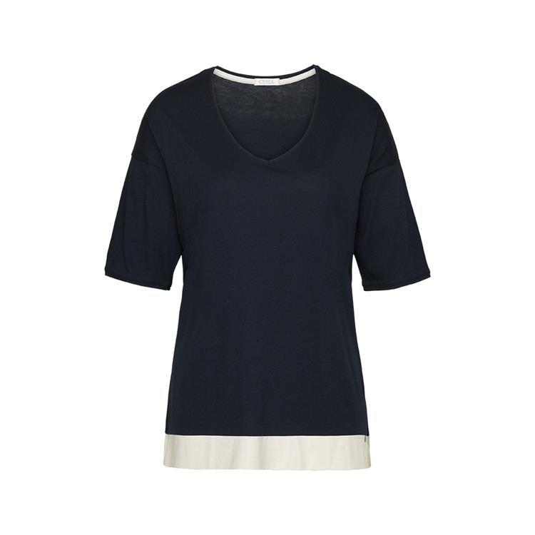 Cyell shirt short sleeve Solids Ink Bl
