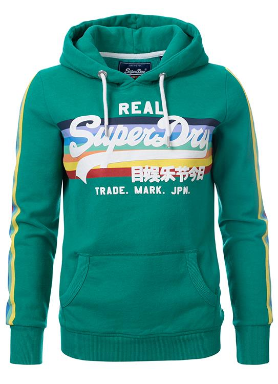 Superdry Sweater Retro Rainbow.