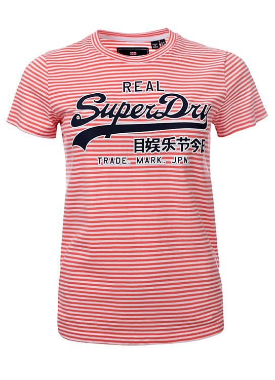 Superdry T-Shirt Vintage Stripe.