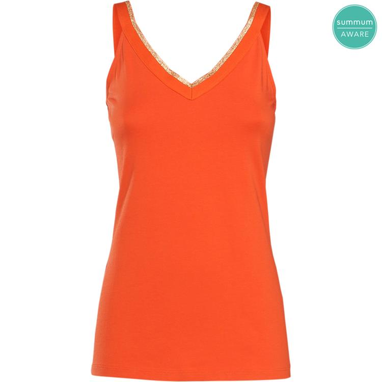 Summum Singlet V-Neck Organic Luxury