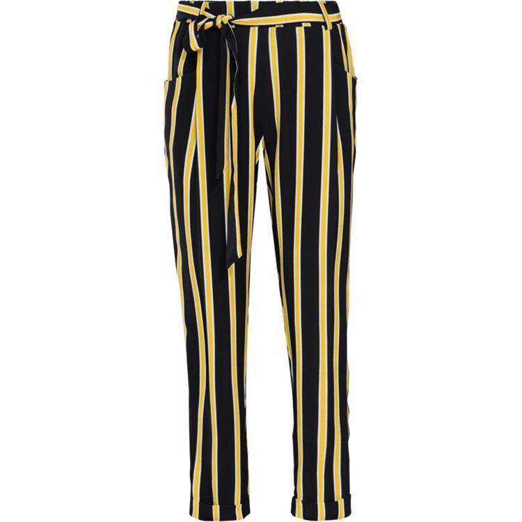 Summum Broek Striped Crepe