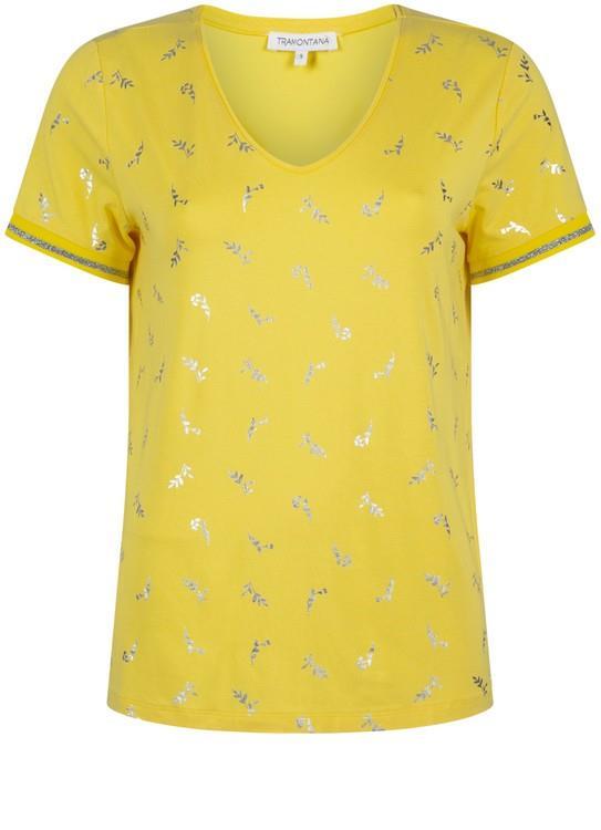 Tramontana T-Shirt Flower Minimal AOP