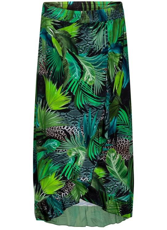 Tramontana Rok Jungle Print Wrap