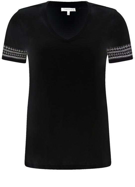 Tramontana T-Shirt Embroidery Sleeves