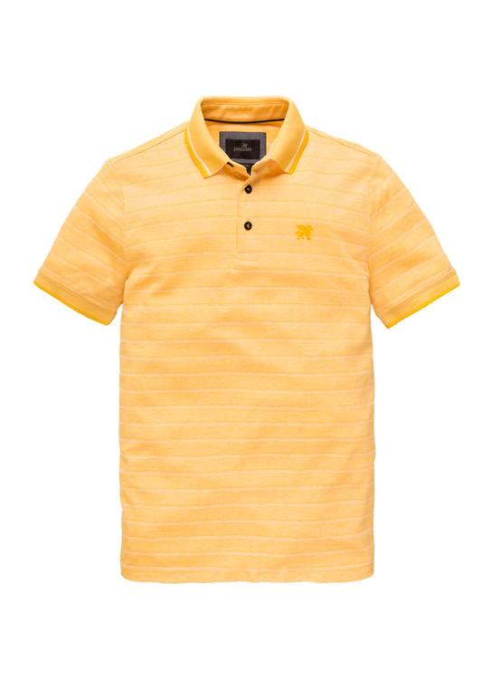 Vanguard Polo KM Pique Two Tone