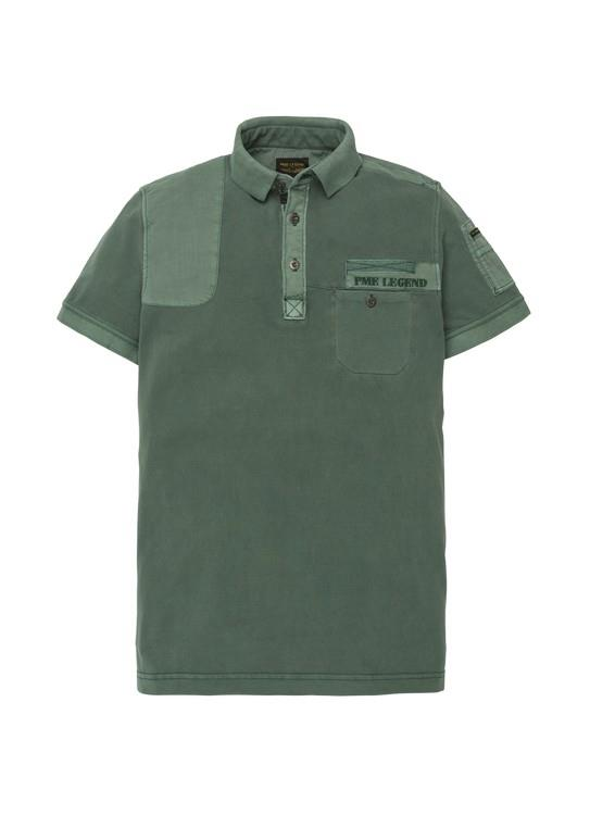 PME Legend Polo KM Rugged Pique