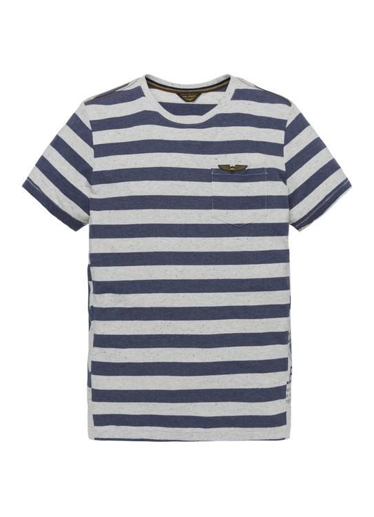 PME Legend T-Shirt KM Stripe Jersey