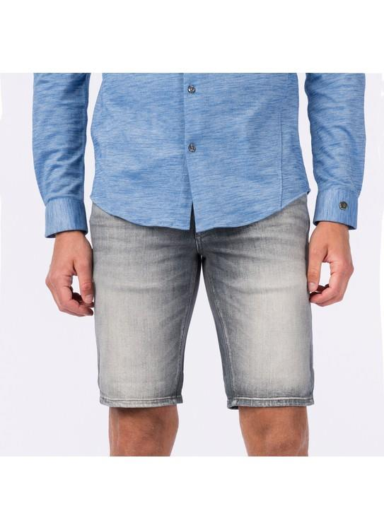 Cast Iron Short Denim Stone Wash