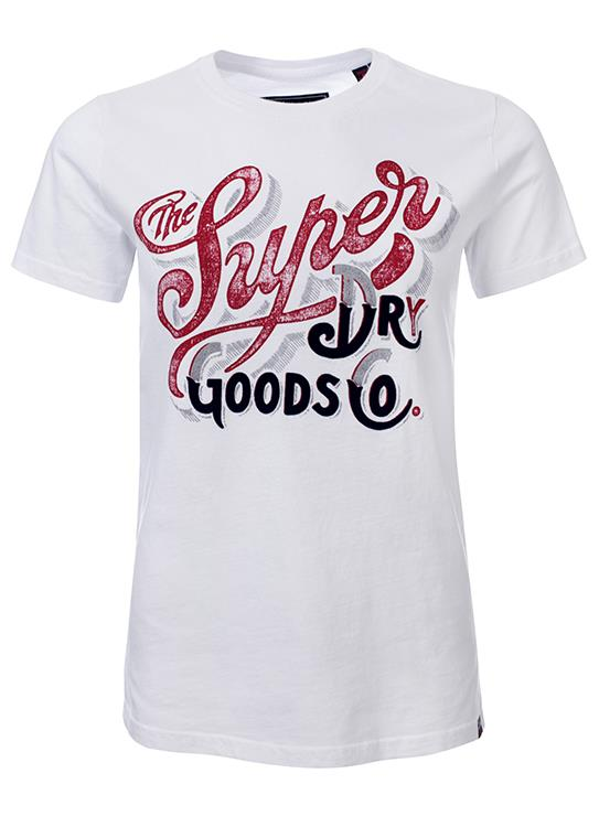 Superdry T-Shirt Flock Metallic