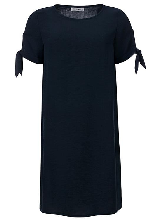In Shape Jurk Knotted Sleeve