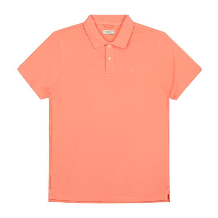 Dstrezzed Polo Oranje Bowie Basic