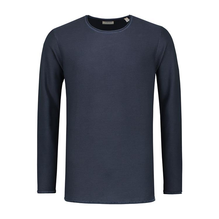 Dstrezzed T-Shirt Donkerblauw Acid Stripe