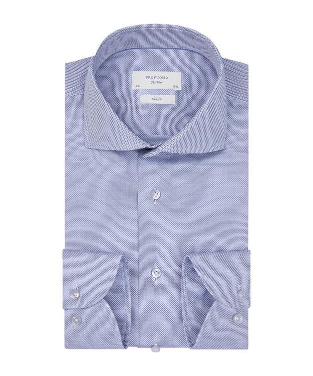 Profuomo Overhemd Hopsack