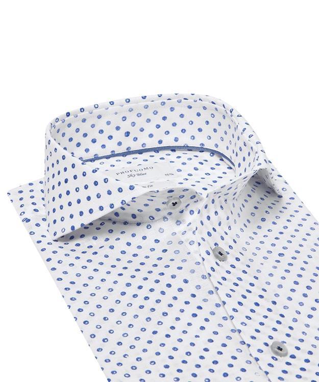 Profuomo Overhemd.Profuomo Overhemd Printed