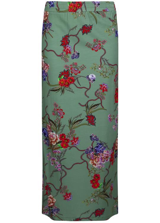 Tramontana Rok Flower Print Green