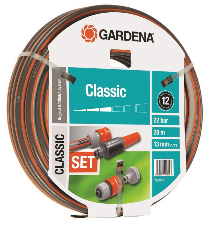 """Gardena Classic tuinslang met aansluitarmaturen 13 mm (1/2"""") 20 m"""