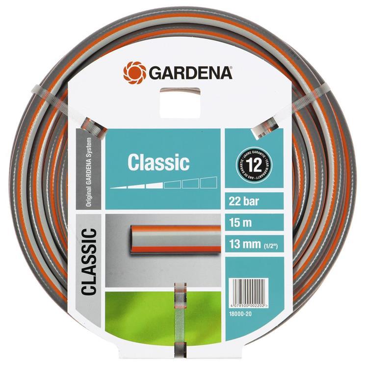 "Gardena Classic tuinslang pvc 13 mm (1/2"") 15 m"