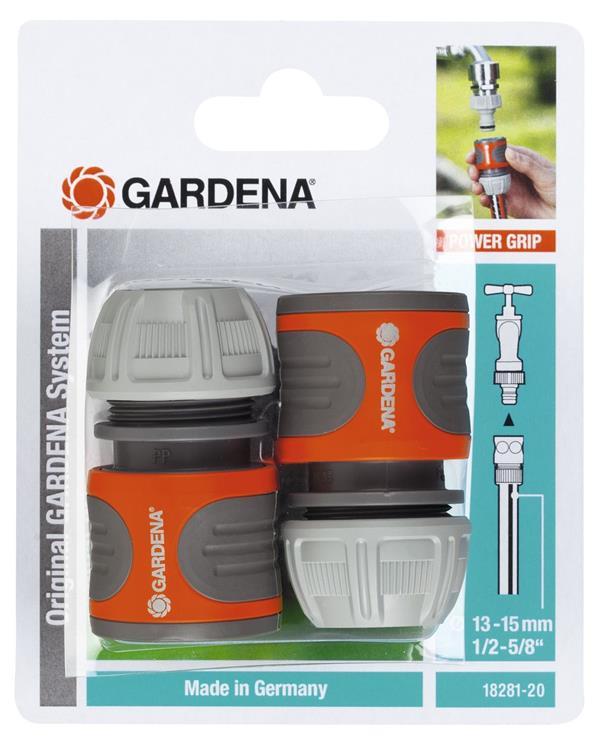 """Gardena slangstukset 13 mm (1/2"""") 2-delig"""